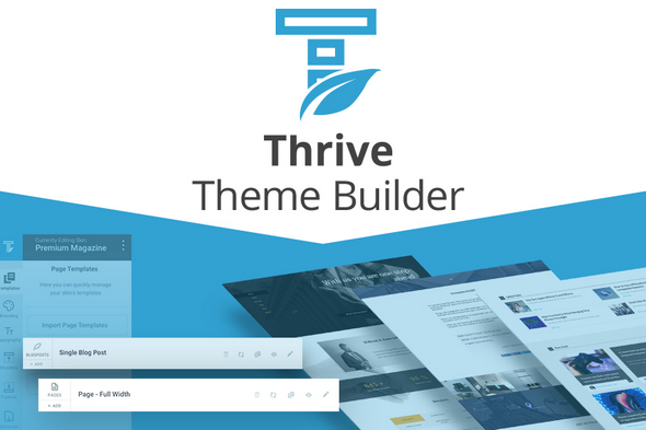 Download Free Thrive Theme Builder wordpress plugin v0 5